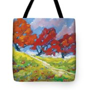 Automn Trees Tote Bag