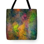 Autum Hillside Tote Bag
