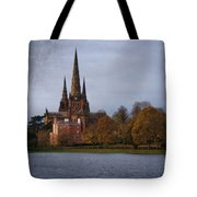 Autumn Lichfield Cathedral Tote Bag