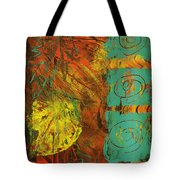 Autumen Abstract Tote Bag