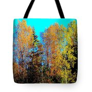 It's Getting Colder Every Day And Soon It Will Be Winter Again    Tote Bag by Hilde Widerberg