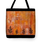 Autumn Abstract Art  Tote Bag