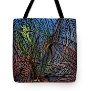 Autumn Abstraction Tote Bag