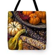 Autumn Abundance Tote Bag by Garry Gay
