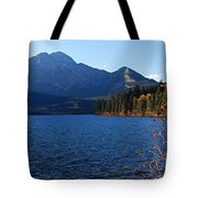 Autumn Afternoon On Pyramid Lake Tote Bag