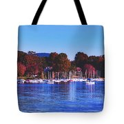 Autumn Along Lake Candlewood - Connecticut Tote Bag