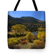 Autumn Along The Rio Grande Tote Bag
