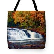 Autumn At Buttermilk Falls Tote Bag