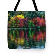 Autumn At Green Lake Seattle Tote Bag