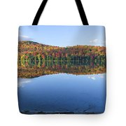 Autumn At Heart Lake Tote Bag