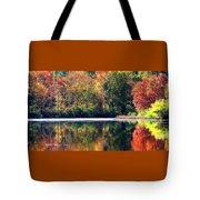 Autumn At Laurel Lake Tote Bag