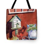 Autumn At Little Mader Tote Bag