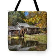 Autumn At Mabry Mill Tote Bag