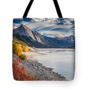 Autumn At Medicine Lake Tote Bag