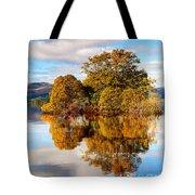 Autumn At Milarrochy Bay Tote Bag