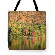 Autumn At North Lake Tote Bag