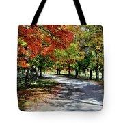 Autumn At Oatlands Lane Tote Bag