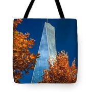 Autumn At One Wtc Tote Bag