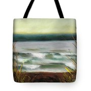 Autumn At The Lake Tote Bag