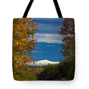 Autumn At The Rocks Estate Tote Bag