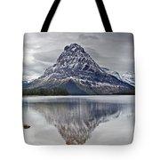 Autumn At Two Medicine Lake Tote Bag