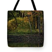 Autumn At Wrights Pond Tote Bag