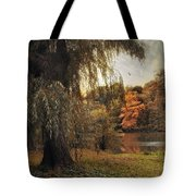 Autumn Awaits Tote Bag