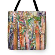 Autumn Bamboo Tote Bag by Marionette Taboniar
