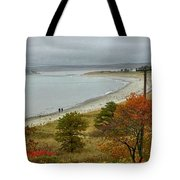 Autumn Beachcombers  Tote Bag
