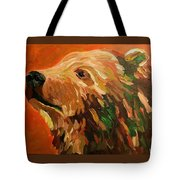 Autumn Bear Tote Bag