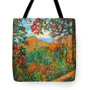 Autumn Beauty From Sharp Top Tote Bag