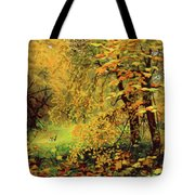 Autumn Bliss Of Color Tote Bag
