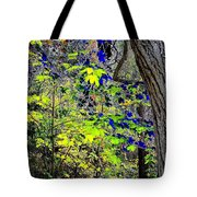 Autumn Blue  Tote Bag