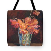 Autumn Bouquet Of Ashberries Tote Bag