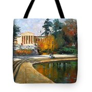 Autumn By Delaware Lake Tote Bag
