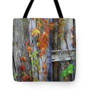 Autumn Collage Tote Bag