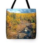 Autumn Color Along Beaver River Tote Bag