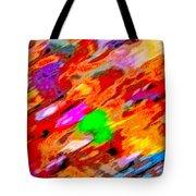 Autumn Color Blurs 144 Tote Bag