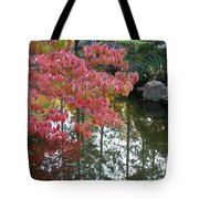 Autumn Color Poster Tote Bag