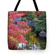 Autumn Color Reflection - Digital Painting Tote Bag