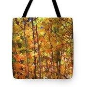 Autumn Colored Tote Bag