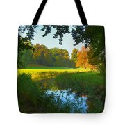 Autumn Colors In A Park Tote Bag