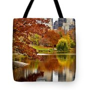 Autumn Colors In Central Park New York City Tote Bag