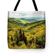 Autumn Colors In The Smokies Tote Bag