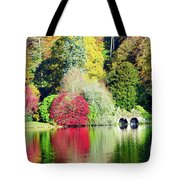 Autumn Colours By The Lake Tote Bag