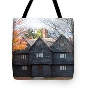 Autumn Comes To The Witch House Tote Bag