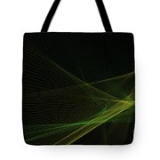 Autumn Computer Graphic Line Pattern Tote Bag