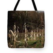 Autumn Cornstalks Tote Bag