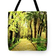 Autumn Corridor Tote Bag