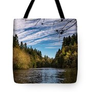 Autumn Cove Tote Bag